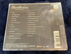 Bloodborne Original Soundtrack 裏ジャケット
